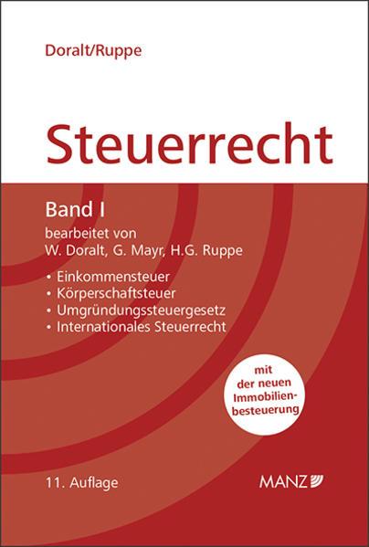 Grundriss des Österreichischen Steuerrechts  Band I (broschiert) - Coverbild