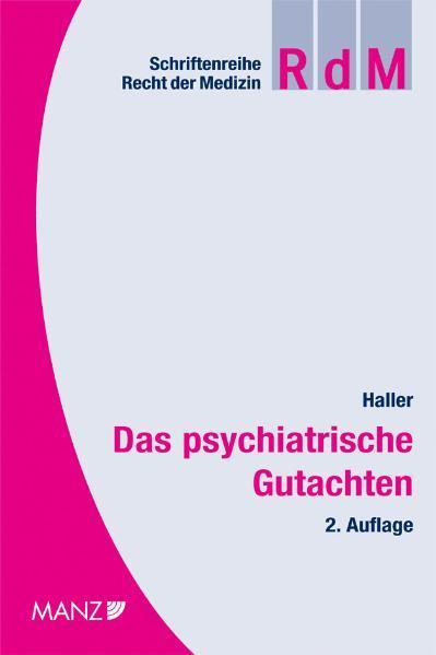 Das psychiatrische Gutachten - Coverbild