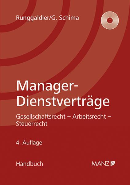 Manager-Dienstverträge - Coverbild