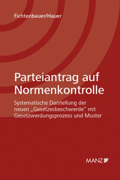 Parteiantrag auf Normenkontrolle - Coverbild