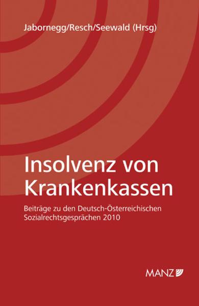 Insolvenz von Krankenkassen - Coverbild