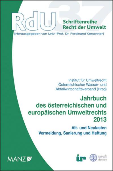 Jahrbuch des österreichischen und europäischen Umweltrechts 2013 - Coverbild