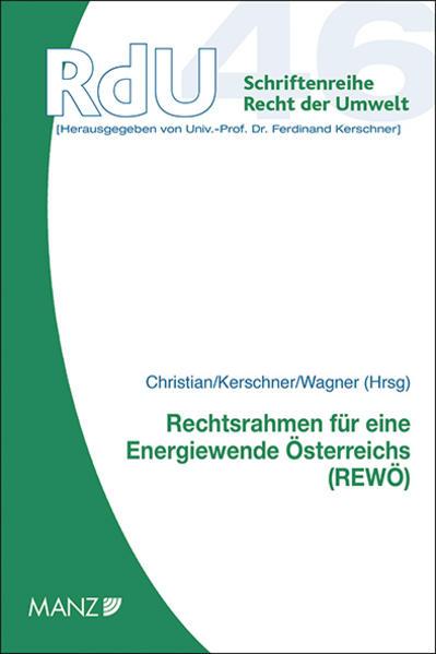 Rechtsrahmen für eine Energiewende Österreichs - Coverbild