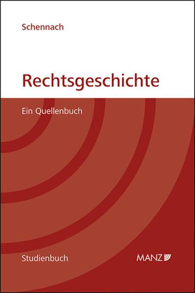 Rechtsgeschichte - Coverbild