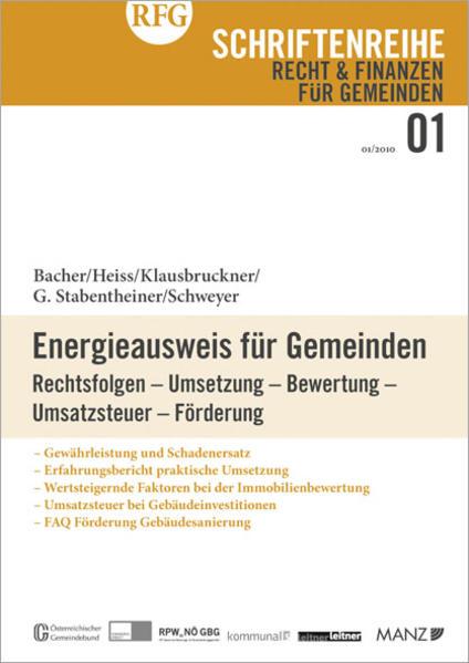 Energieausweis für Gemeinden - Coverbild