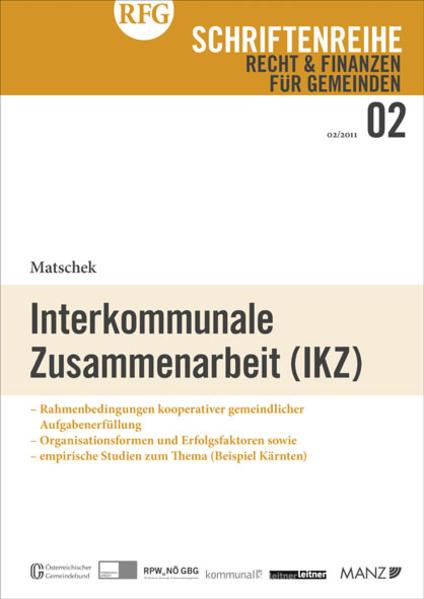 Interkommunale Zusammenarbeit (IKZ) - Coverbild