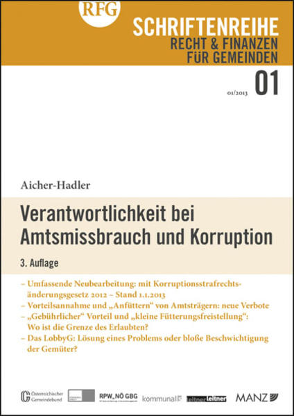 Verantwortlichkeit bei Amtsmissbrauch und Korruption - Coverbild