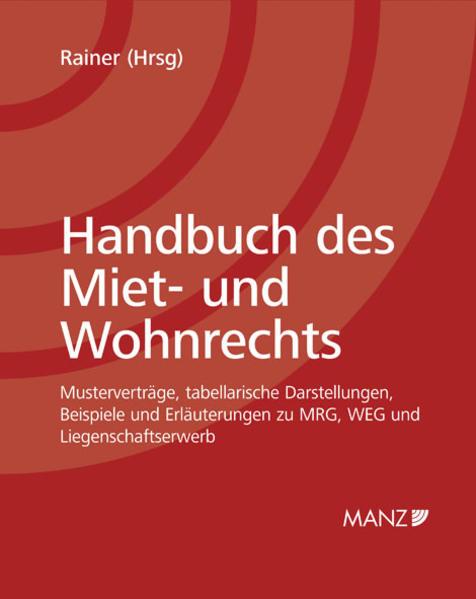 Handbuch des Miet- und Wohnrechts inkl. 28. Erg.-Lfg. - Coverbild