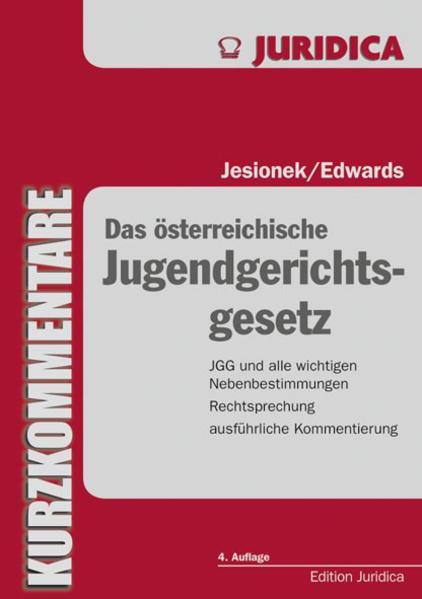 Das österreichische Jugendgerichtsgesetz - Coverbild