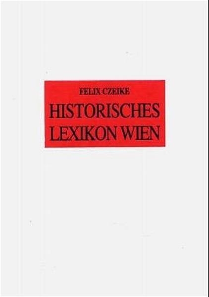 Historisches Lexikon Wien - Coverbild
