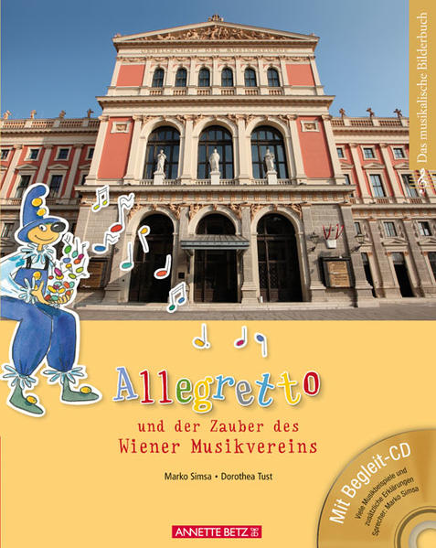 Allegretto und der Zauber des Wiener Musikvereins (mit CD) - Coverbild