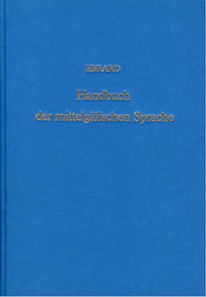 Handbuch der mittelgälischen Sprache - Coverbild