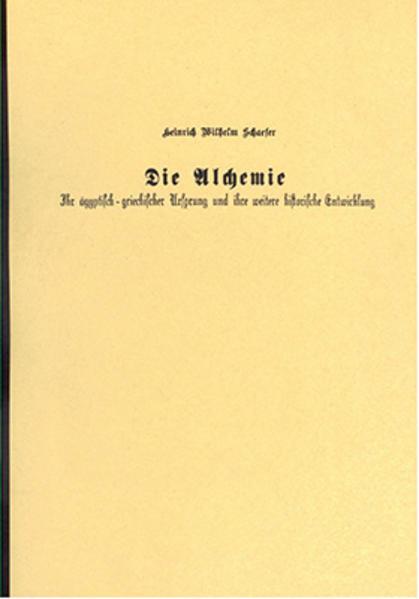 Die Alchemie - Coverbild