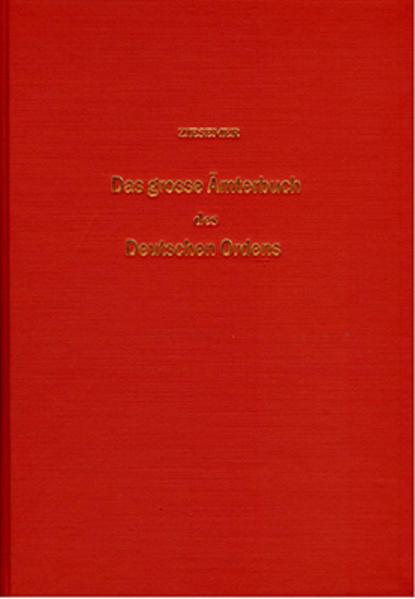 Das grosse Ämterbuch des Deutschen Ordens - Coverbild