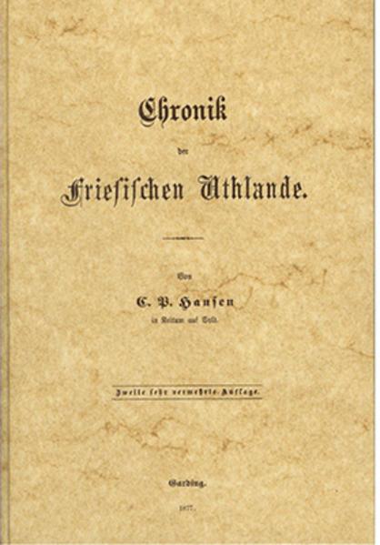 Chronik der Friesischen Uthlande - Coverbild