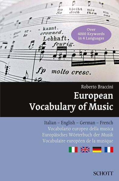 European Vocabulary of Music - Coverbild