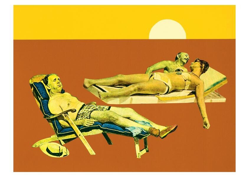 Karte Ungerer, Waiting for Godot (20 Ex) - Coverbild
