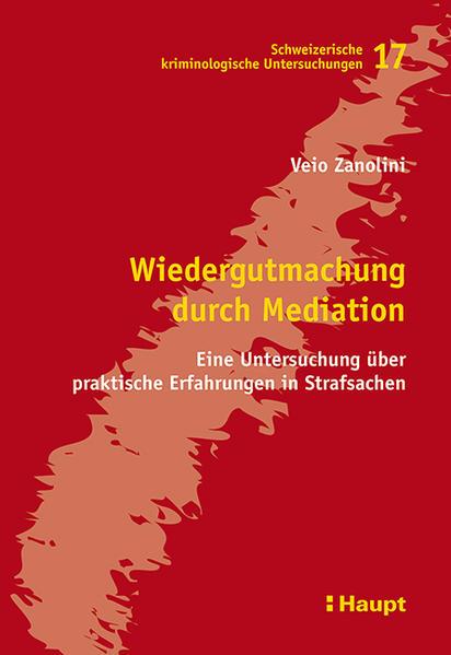 Wiedergutmachung durch Mediation - Coverbild