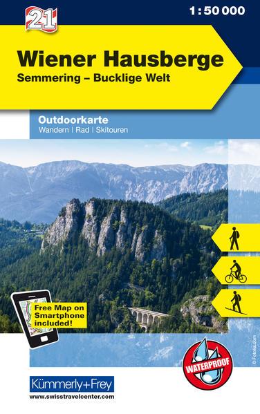 Wiener Hausberge - Semmering, Bucklige Welt - Coverbild