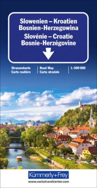 Slowenien - Kroatien - Bosnien-Herzegowina - Coverbild