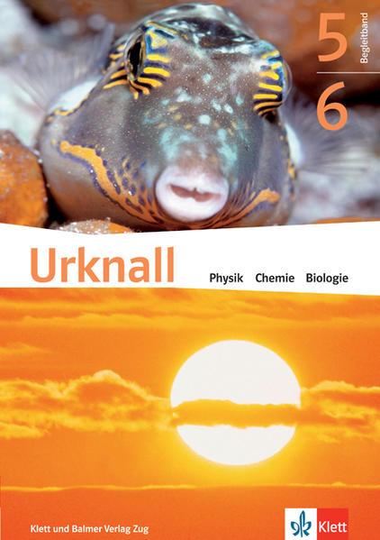 Urknall. Physik, Chemie, Biologie - Ausgabe Schweiz / Schulbuch 5/6 - Coverbild