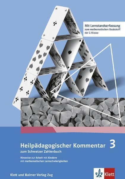 Schweizer Zahlenbuch 3 / Heilpädagogischer Kommentar zum Schweizer Zahlenbuch 3 - Coverbild