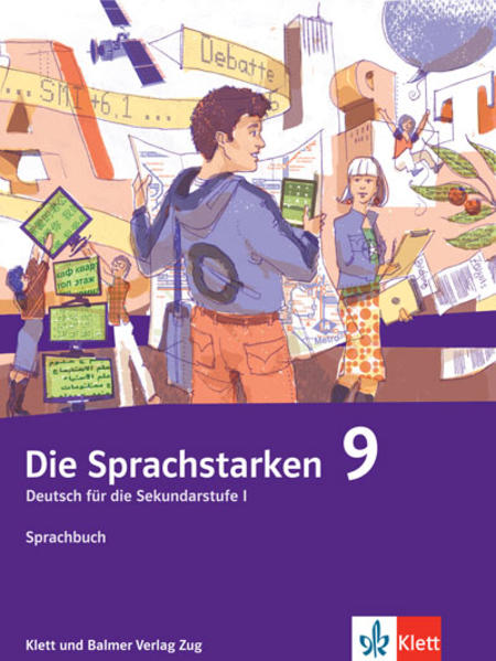 Die Sprachstarken 9 - Coverbild