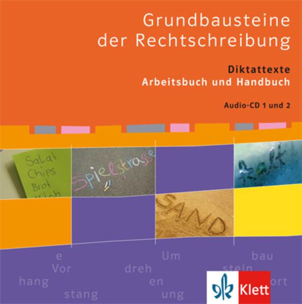Grundbausteine der Rechtschreibung - Coverbild