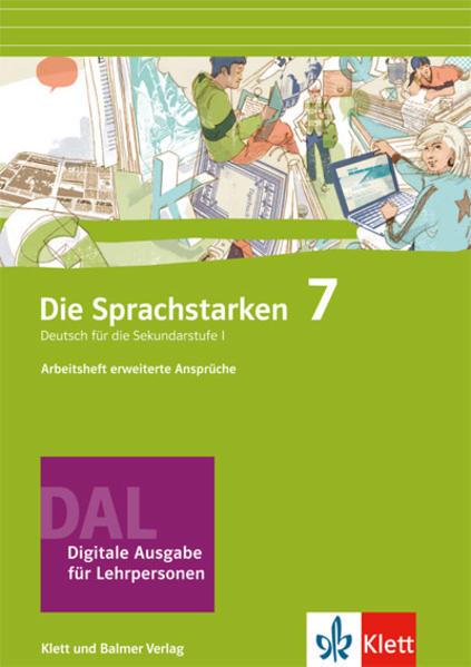 Die Sprachstarken 7 - Coverbild