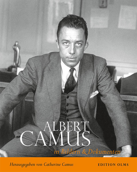 Albert Camus - Sein Leben in Bildern und Dokumenten - Coverbild
