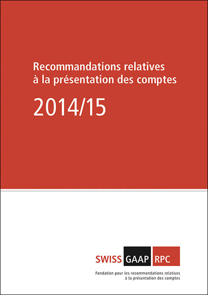 Swiss GAAP RPC 2014/15 - Coverbild