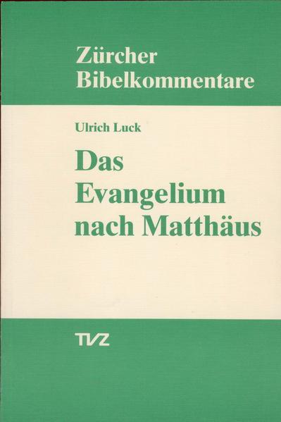 Das Evangelium nach Matthäus - Coverbild