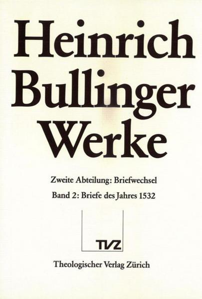 Bullinger, Heinrich: Werke - Coverbild