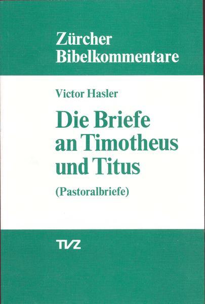 Die Briefe an Timotheus und Titus - Coverbild