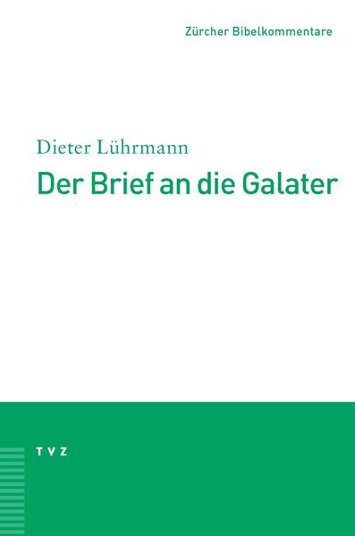 Der Brief an die Galater - Coverbild