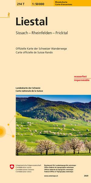 214T Liestal Wanderkarte - Coverbild