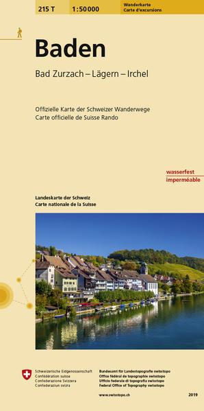 215T Baden Wanderkarte - Coverbild