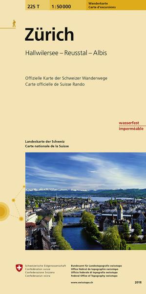 225T Zürich Wanderkarte - Coverbild