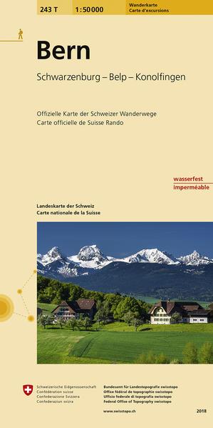243T Bern Wanderkarte - Coverbild