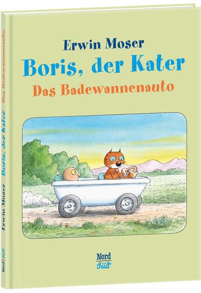 Boris, der Kater - Das Badewannenauto - Coverbild