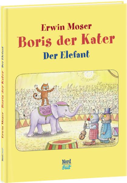 Boris der Kater - Der Elefant - Coverbild