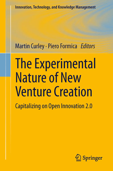 The Experimental Nature of New Venture Creation - Coverbild