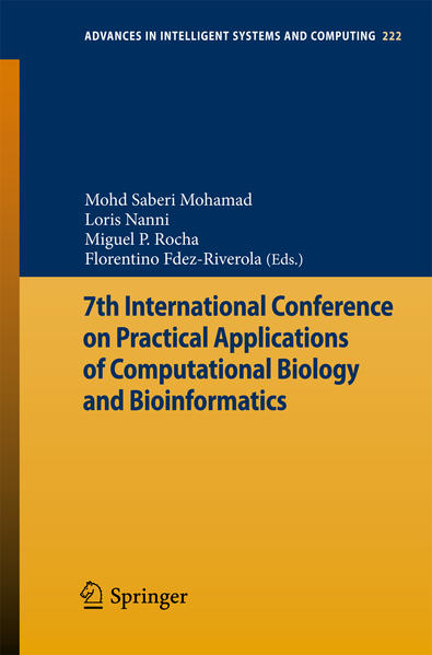 7th International Conference on Practical Applications of Computational Biology & Bioinformatics - Coverbild