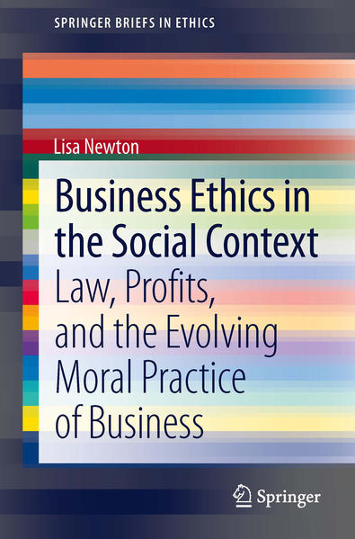 Business Ethics in the Social Context - Coverbild