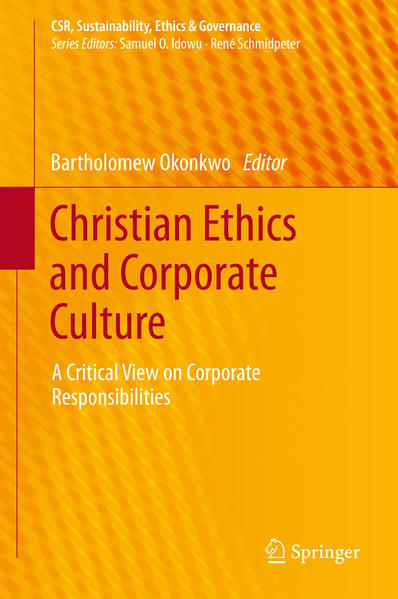 Christian Ethics and Corporate Culture - Coverbild