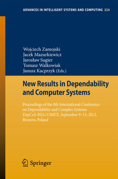 New Results in Dependability and Computer Systems - Coverbild