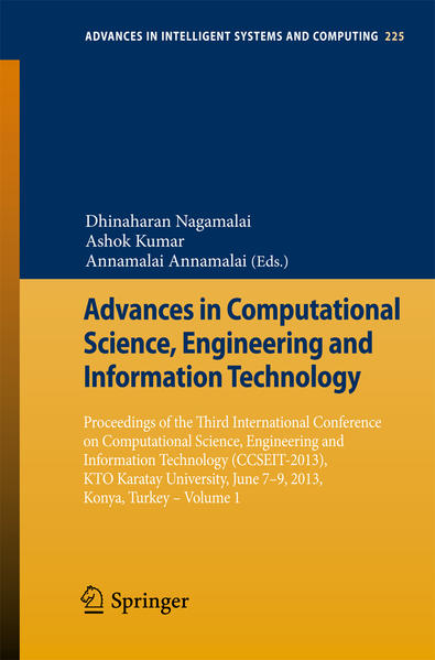 Advances in Computational Science, Engineering and Information Technology - Coverbild