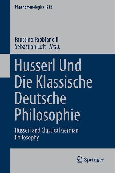 Husserl und die klassische deutsche Philosophie - Coverbild