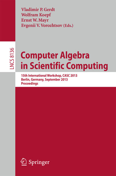 Computer Algebra in Scientific Computing - Coverbild