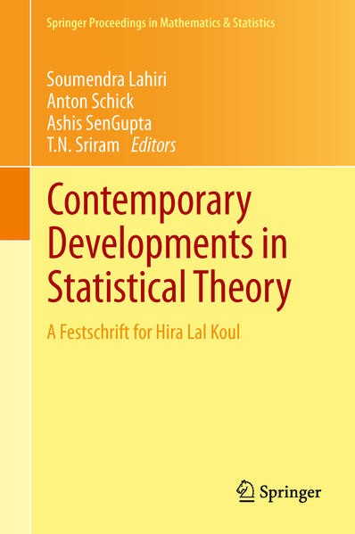 Contemporary Developments in Statistical Theory - Coverbild